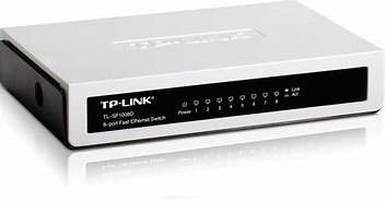 TP-LINK 8 Port Fast Ethernet Switch