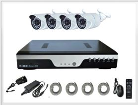 Home CCTV Kit with Bullet camera